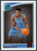 Hamidou Diallo 2018-19 Panini Donruss Basketball Rated Rookie #171 OKC Thunder