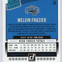 2018-19 Panini Donruss Basketball Rated Rookie #153 Melvin Frazier Magic Small Forward