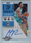 2018-19 Panini Contenders Optic Basketball #123 Hamidou Diallo Auto RC OKC Thunder