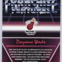 2018-19 Donruss Franchise Features #16 Dwyane Wade Miami Heat