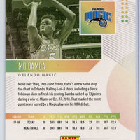 2018-19 Panini Status Basketball #104 Mo Bamba rookie card Orlando Magic