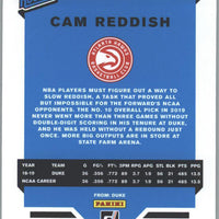 2019-20 Donruss Basketball Rated Rookie Cam Reddish Card #209 Atlanta Hawks