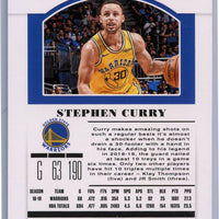 2019 Panini Contenders Draft Picks No. 48 Stephen Curry Season Ticket Card Golden State Warriors