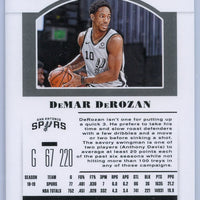 2019 Panini Contenders Draft Picks Season Ticket #14 DeMar DeRozan San Antonio Spurs