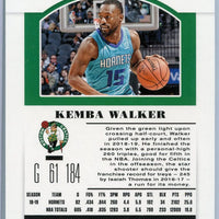 2019 Panini Contenders Draft Picks Season Ticket #27 Kemba Walker card