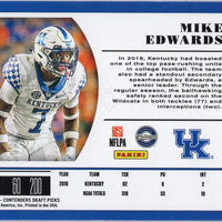2019 Panini Contenders Draft Picks #299 Mike Edwards Autograph RC Tampa Bay