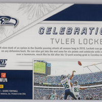 2019 Panini Score Football No. C-3 Celebration Tyler Lockett Seattle Seahawks