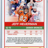 2019 Panini Score Football Jeff Heuerman #18 Broncos card