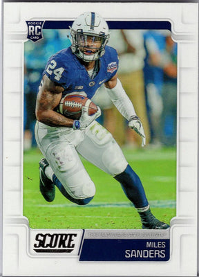 Miles Sanders Rookie Card No. 346 2019 Score Football