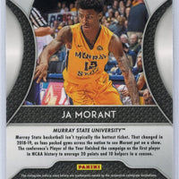 2019 Panini Prizm Draft Picks Ja Morant rookie card #65 Murray State