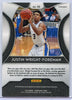 2019 Panini Prizm Draft Picks Basketball Justin Wright-Foreman blue rookie card #55