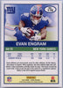 2019 Score Football Evan Engram Grey Parallel 178 NY Giants card