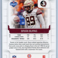 2019 Panini Score Football #379 Brian Burns RC
