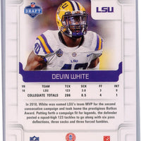 2019 Panini Score Football #369 Devin White rookie card