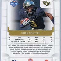 2019 Panini Score Football #435 Greg Dortch RC Wake Forest - New York Jets