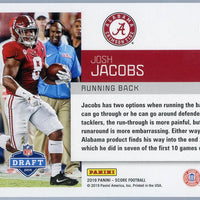 2019 Panini Score Football DFT-7 Josh Jacobs RC