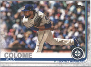 Alex Colome Card 2019 Topps Series 1 Baseball #220 Mariners