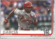 Adolis Garcia rookie card 2019 Topps Series 1 Baseball #227