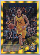 4/25 Bojan Bogdanovic Gold Holo Laser Card #122 Panini Donruss Basketball 2018-19 Pacers