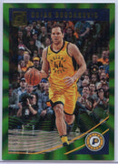 66/99 Bojan Bogdanovic Green Holo Laser Card #122 2018-19 Panini Donruss Basketball Pacers