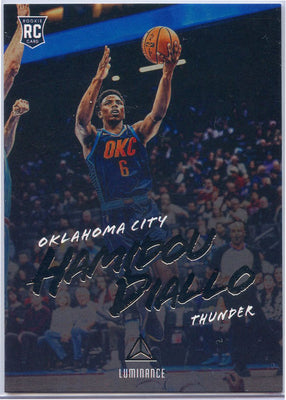 Hamidou Diallo RC 2018-19 Panini Luminance No. 145