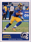 Aaron Donald 2019 Score Football #295 Los Angeles Rams