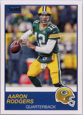 Aaron Rodgers 2019 Score Football #223 card