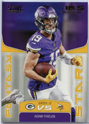 Adam Thielen Fantasy Stars 2019 Score Football card