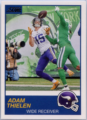 Adam Thielen 2019 Score Football #236 card