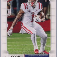 A.J. Brown RC 2019 Score Football #348 Ole Miss - Titans
