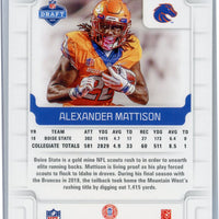 2019 Panini Score Football Alexander Mattison RC