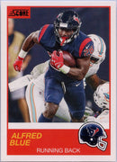 Alfred Blue 2019 Score Football #44 card
