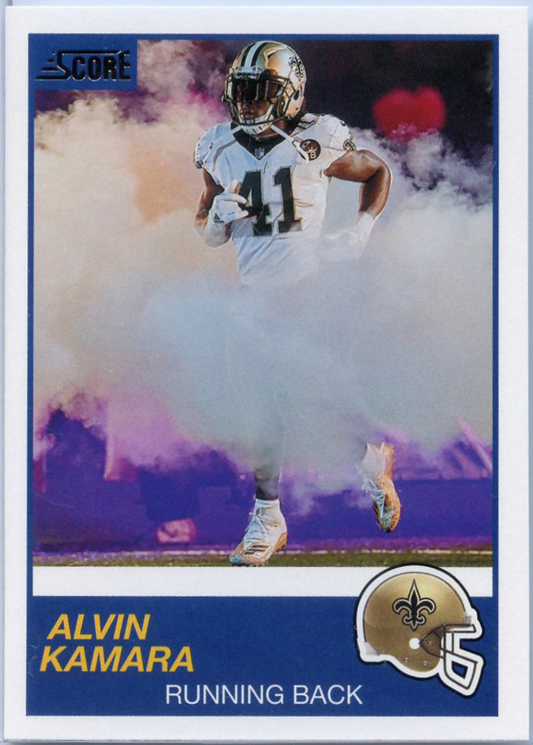 Alvin Kamara 2019 Score Football #264 New Orleans Saints