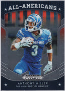Anthony Miller 2019 Panini Prizm Draft Picks All-Americans #7 Memphis Tigers card