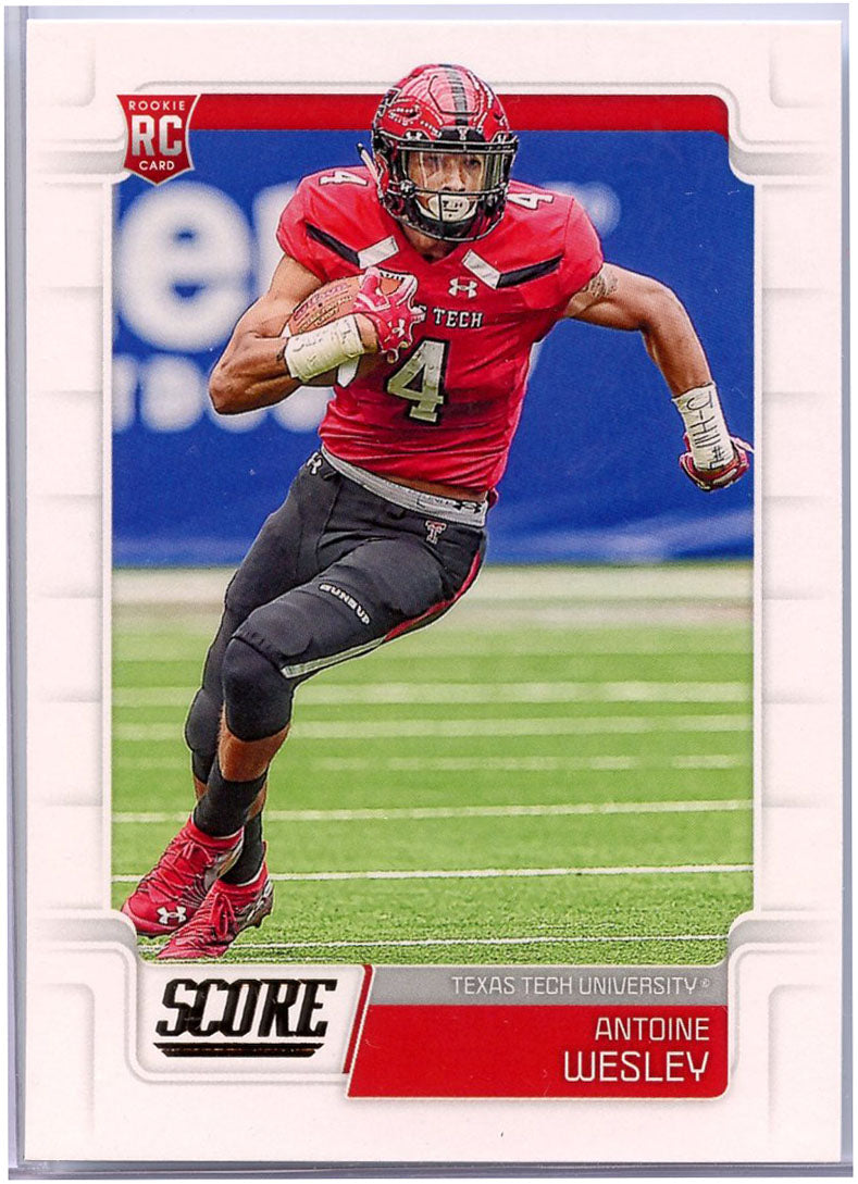 Antoine Wesley RC 2019 Score Football #401