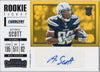Artavis Scott Auto Rookie Card 2017 Panini Contenders Football 276