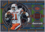 Barry Sanders 2019 Panini Prizm Draft Picks Stained Glass #33 Oklahoma State card