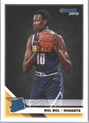 Bol Bol Rated Rookie #234 Card 2019-20 Donruss Basketball Nuggets center