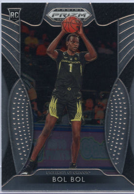 Bol Bol rookie card #45 Panini Prizm Draft Picks 2019