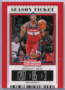 Bradley Beal Season Ticket Card #5 Panini Contenders Draft Picks 2019