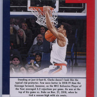 2019 Panini Contenders Draft Picks Game Day Ticket #21 Brandon Clarke rookie card Gonzaga University