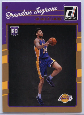 Brandon Ingram Rookie Card #152 2016-17 Donruss Basketball LA Lakers