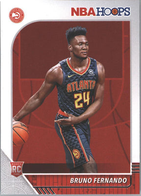Bruno Fernando Rookie Card #228 2019-20 NBA HOOP Basketball