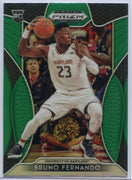 2019 Prizm Draft Picks GREEN Bruno Fernando Rookie Card #35 Maryland