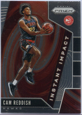 Cam Reddish Instant Impact rookie card #18 ATL Hawks Prizm Basketball