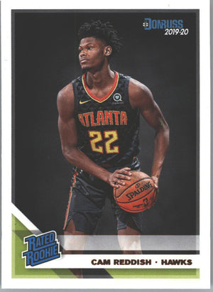 Cam Reddish Rated Rookie Card 209 Panini Donruss Basketball 2019-20