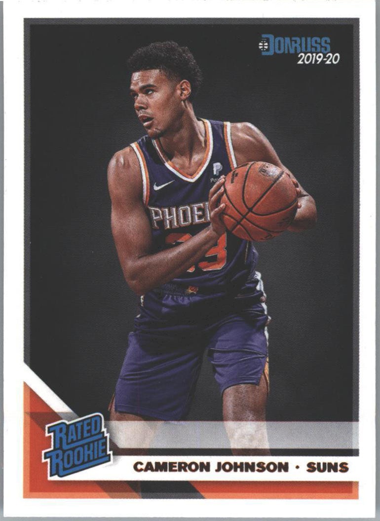 Cameron Johnson Rated Rookie #210 Card 2019-20 Donruss Basketball
