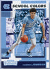 Cameron Johnson rookie card 2019 Contenders Draft Picks School Colors #18 UNC