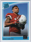 Christian Kirk Rated Rookie card #313 Donruss Football