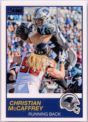 Christian McCaffrey 2019 Score Football #254 Carolina Panthers